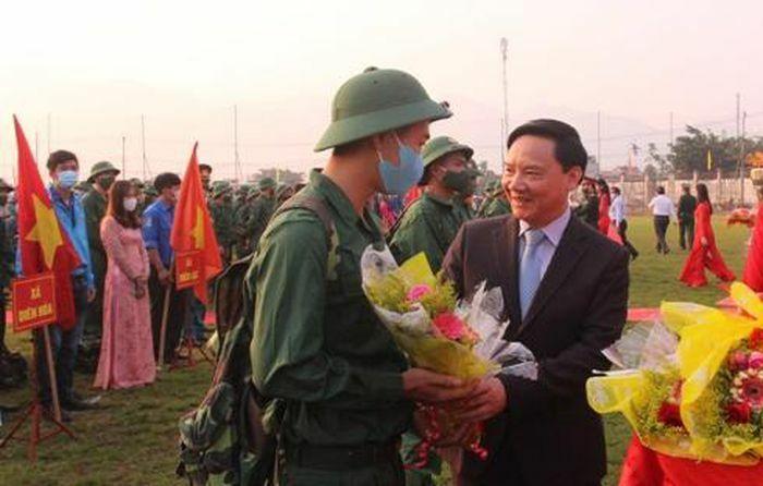 Khánh Hòa: Hơn 2.023 thanh niên lên đường nhập ngũ