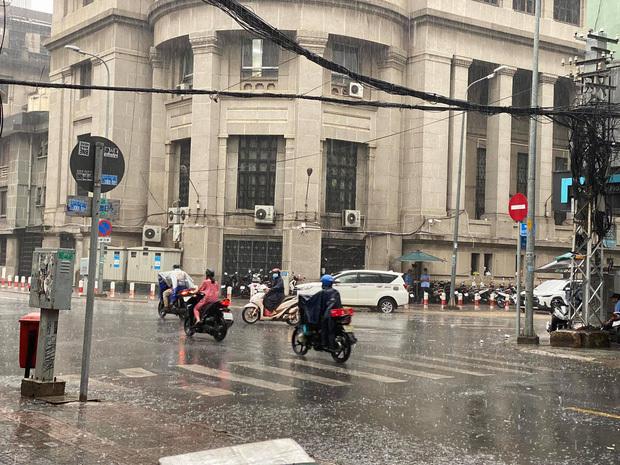 TP.HCM bất ngờ mưa to trái mùa ngày 27 tháng Chạp, có thể ảnh hưởng đến hoa Tết