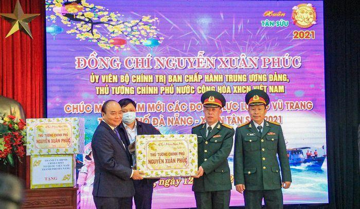 Thủ tướng Nguyễn Xuân Phúc thăm và chúc Tết tại Đà Nẵng