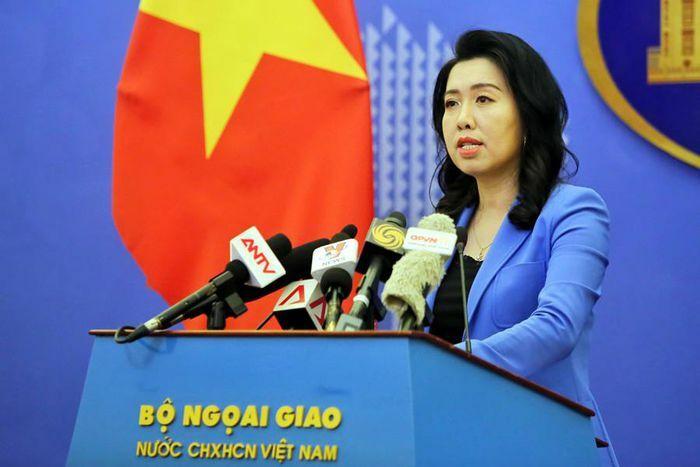 Người phát ngôn Bộ Ngoại giao: Yêu cầu các nước liên quan tôn trọng chủ quyền, quyền chủ quyền, quyền tài phán của Việt Nam ở Biển Đông