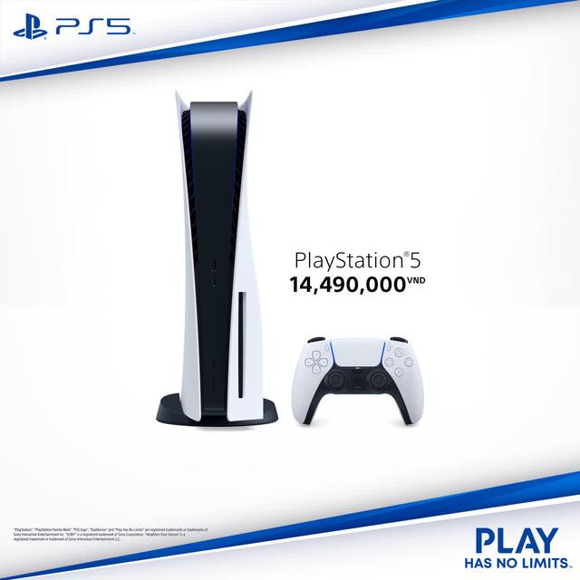 PS5 Việt Nam công bố giá bán cực mềm, học sinh, sinh viên đủ sức mua, đặt trước từ 1/3