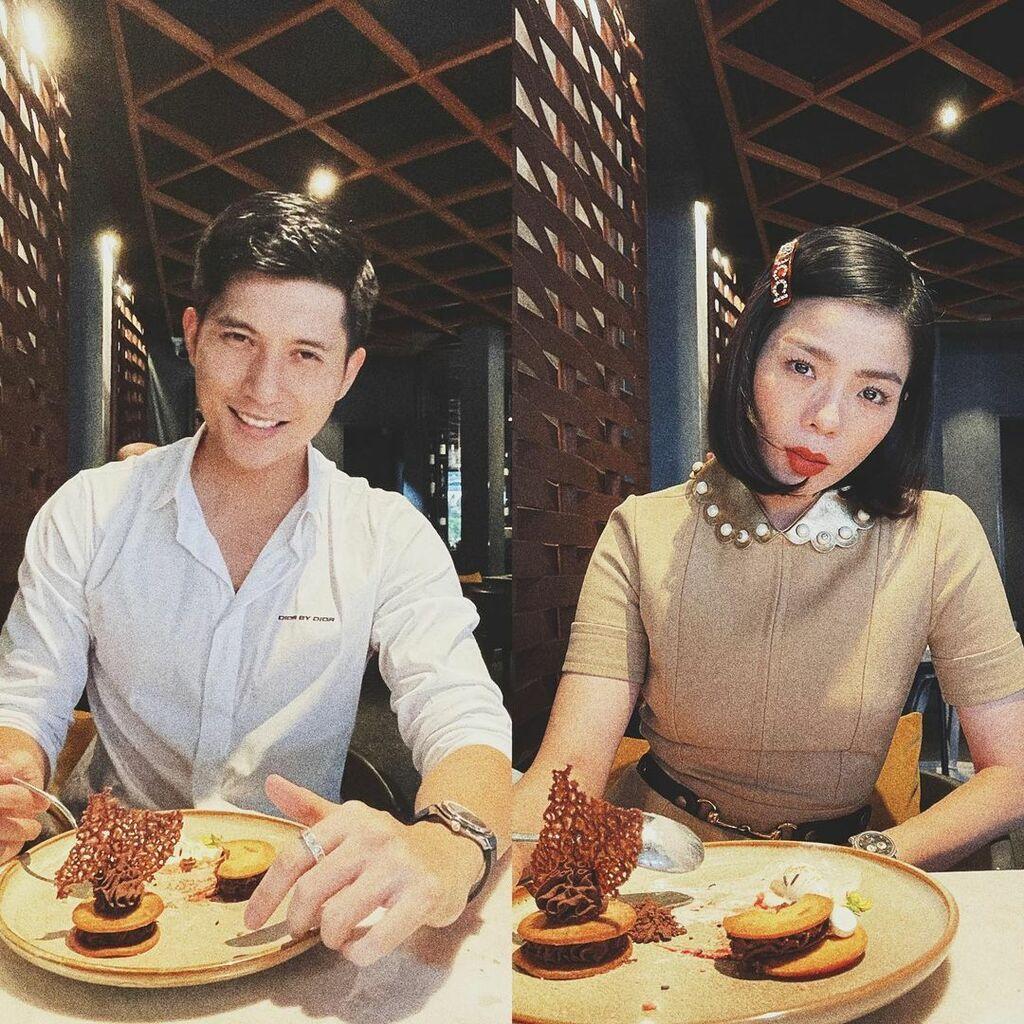 Lệ Quyên khoe ảnh đắm đuối nhìn bạn trai mừng Valentine, ai ngờ Lâm Bảo Châu còn có hành động táo bạo hơn