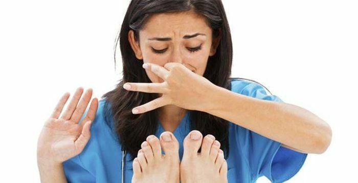 Mẹo chữa hôi chân có thể bạn chưa biết