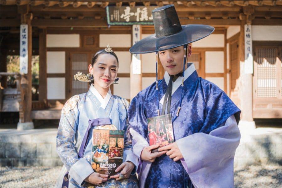 Vợ chồng 'Đế Hậu' Shin Hye Sun và Kim Jung Hyun chia sẻ trước 2 tập cuối 'Mr. Queen'