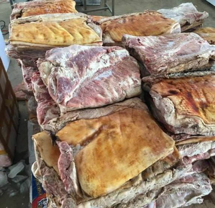 Lâm Đồng: Phát hiện hơn 1,4 tấn thịt heo không rõ nguồn gốc ngày gần tết