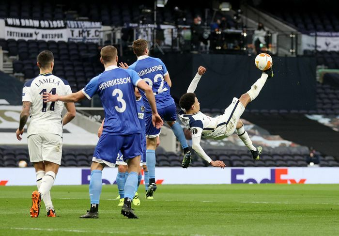 Tottenham đi tiếp ở Europa League sau thắng lợi 4-0