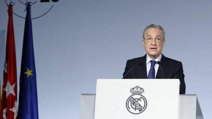 Chủ tịch Real Madrid dương tính với COVID-19