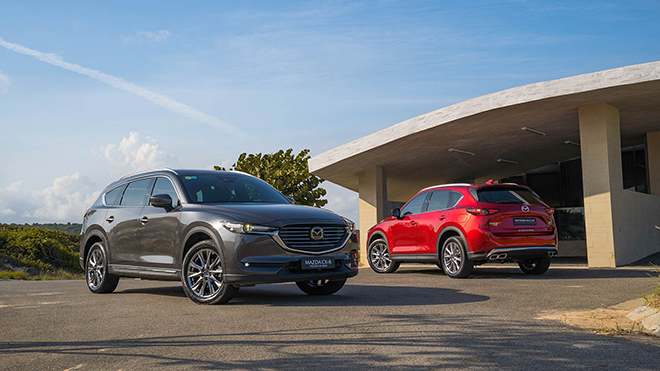 Giá xe Mazda CX-8 lăn bánh tháng 2/2021