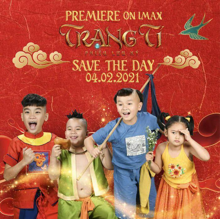 """Poster phim """"Trạng Tí"""" lược bỏ cụm từ """"Thần đồng đất Việt"""", có động thái """"tri ân"""" họa sĩ Lê Linh"""