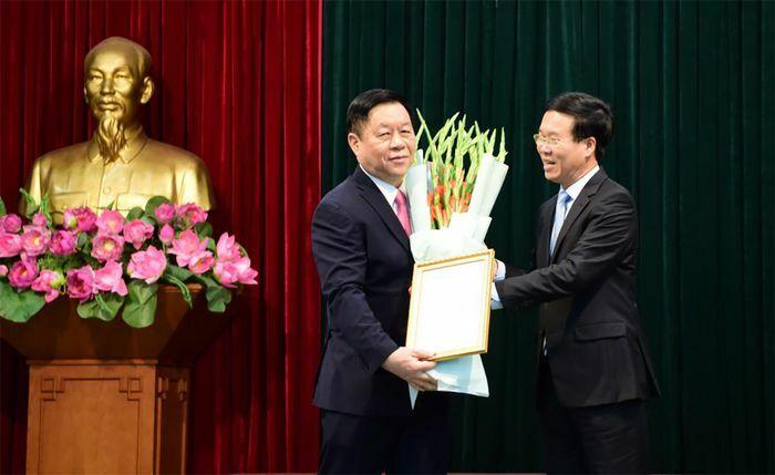 Thượng tướng Nguyễn Trọng Nghĩa làm Trưởng ban Tuyên giáo Trung ương