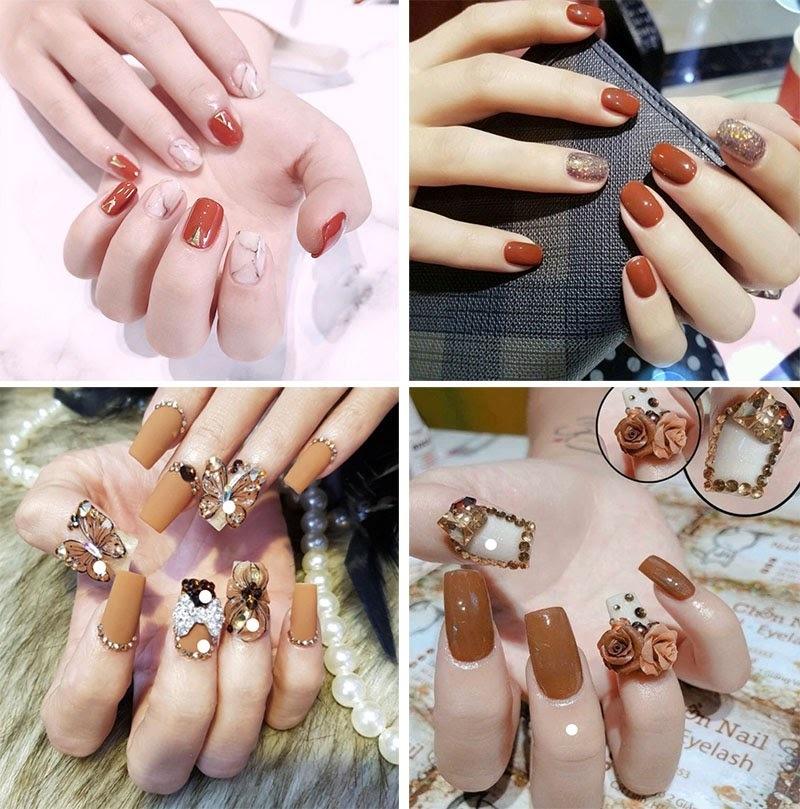 35 Mẫu sơn móng tay đẹp hot nhất mang lại vẻ đẹp sang trọng nhẹ nhàng