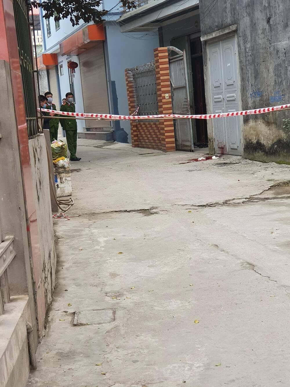 Chồng sát hại vợ ngay trước cửa nhà ngày mùng 5 Tết
