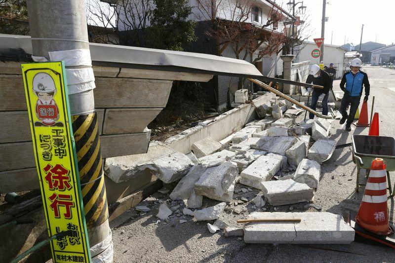 Nhật Bản rung chuyển vì dư chấn của thảm họa động đất sóng thần Fukushima