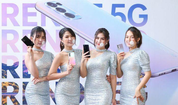 OPPO gắn kết 5G với Reno5 5G giá gần 12 triệu đồng
