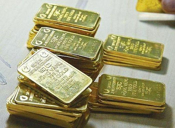 Vàng thế giới tăng, vàng trong nước đứng giá phiên đầu tuần