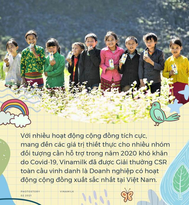 Các chương trình CSR tạo nên dấu ấn Vinamilk trong năm 2020