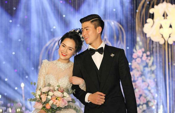 Những đám cưới trai tài, gái sắc của bóng đá Việt
