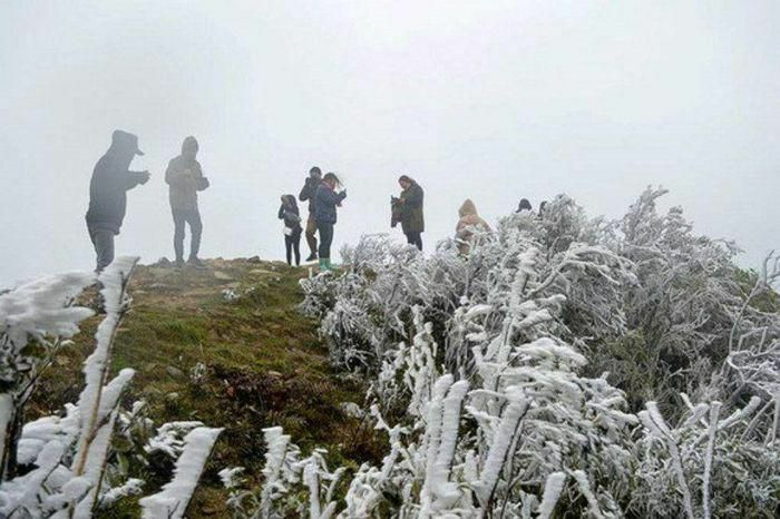 Miền Bắc chuyển rét, vùng núi cao có thể xuất hiện mưa tuyết