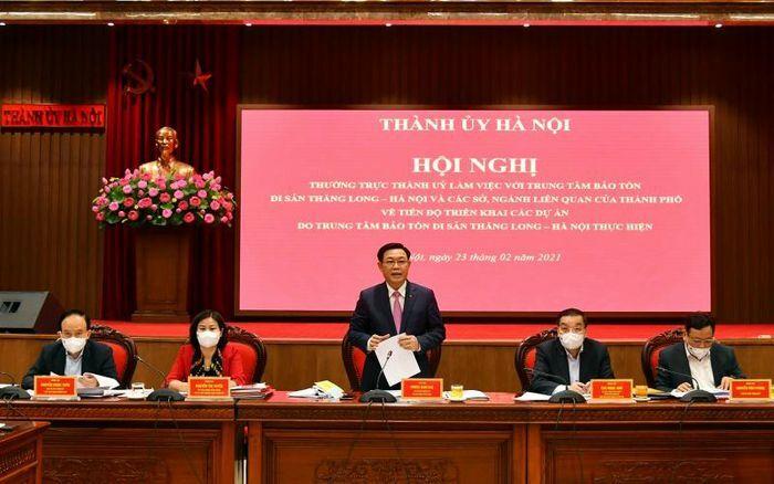 Hà Nội sẽ sớm phục dựng điện Kính Thiên