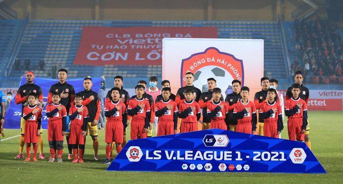 Những cầu thủ Nghệ An đang thi đấu cho CLB Hải Phòng tại V.League 2021