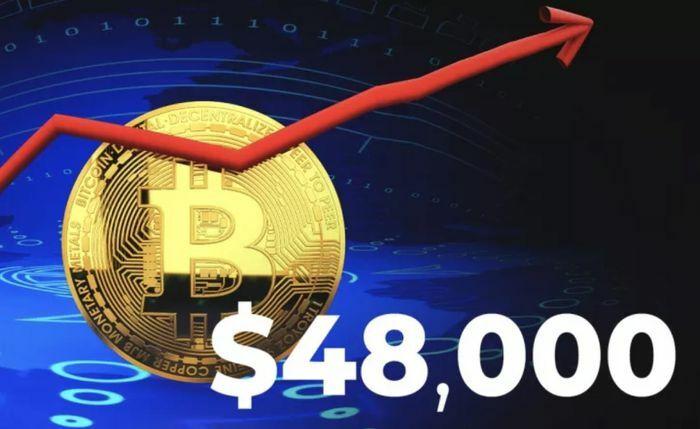 Giá Bitcoin lại lập kỷ lục mới, dự báo lên 100.000 USD vào cuối năm