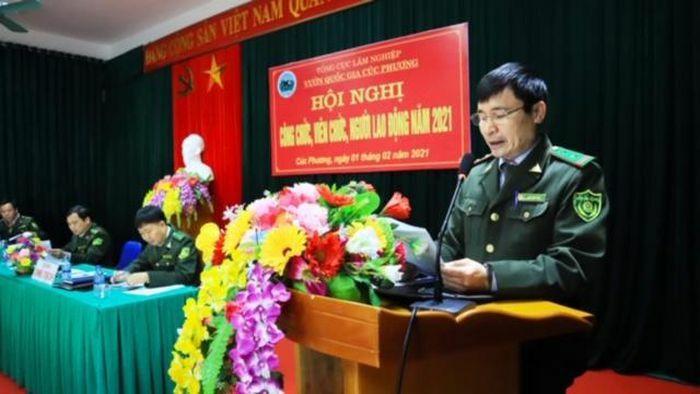 VQG Cúc Phương tổ chức Hội nghị công chức, viên chức, người lao động năm 2021