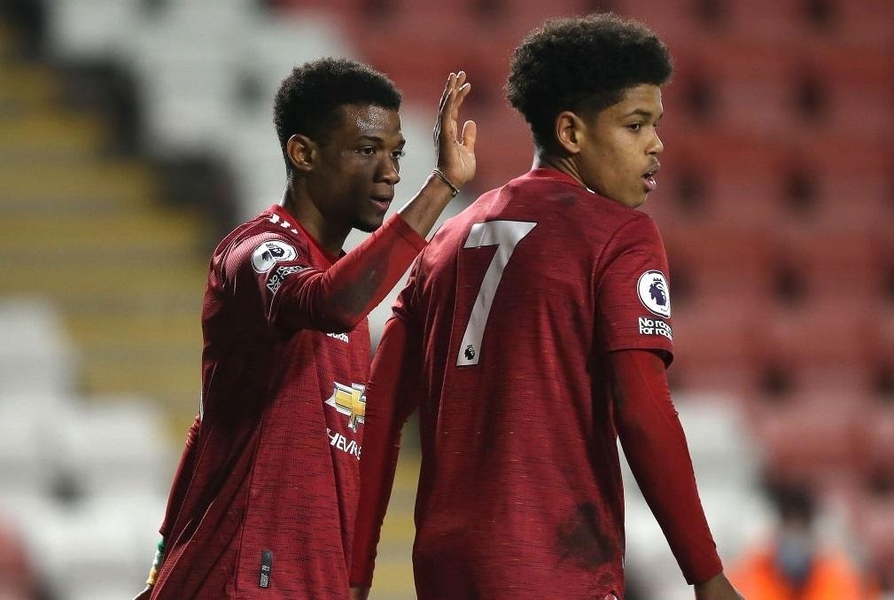 Diallo vừa ghi bàn, vừa có hat-trick kiến tạo cho U23 M.U