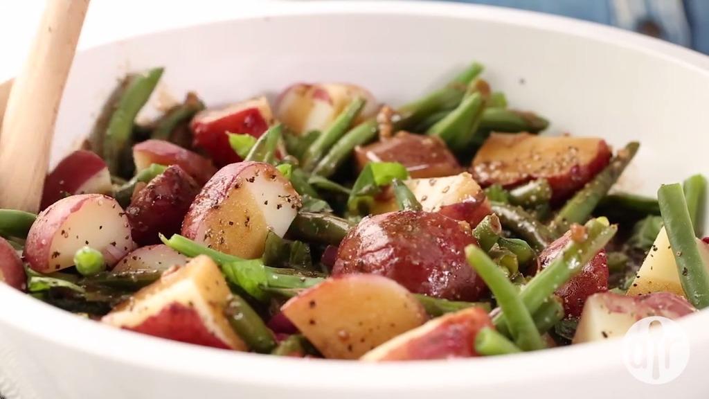 """Salad khoai tây đậu đũa vừa ngon vừa giúp giảm cân hiệu quả sau chuỗi ngày ăn """"ngập thịt"""""""