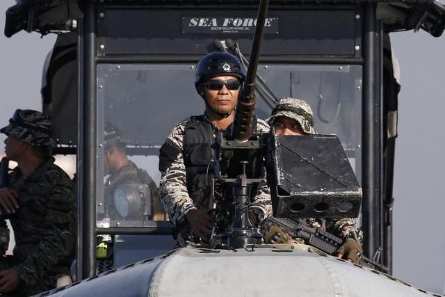 """Lo """"chọc giận"""" Trung Quốc, Philippines không tập trận với Mỹ ở Biển Đông"""