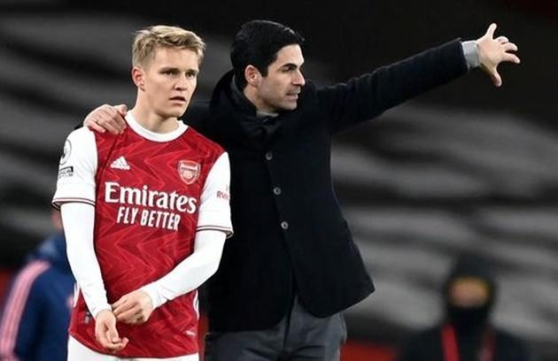 Thomas Partey chỉ ra yếu tố quan trọng giúp Odegaard gia nhập Arsenal
