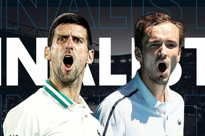Djokovic chiếm ưu thế tại chung kết Australian Open