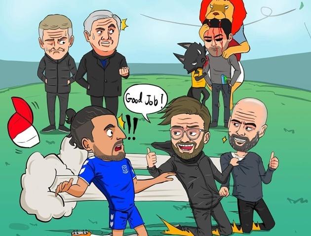 Cười té khói với loạt ảnh chế vòng 23 Premier League