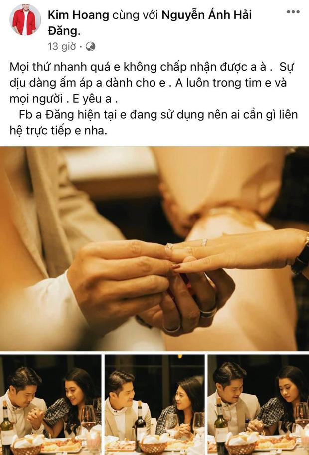 """Vợ sắp cưới diễn viên Hải Đăng có chia sẻ đầu tiên trên MXH hậu tang lễ: """"Anh luôn trong tim em, em yêu anh"""""""