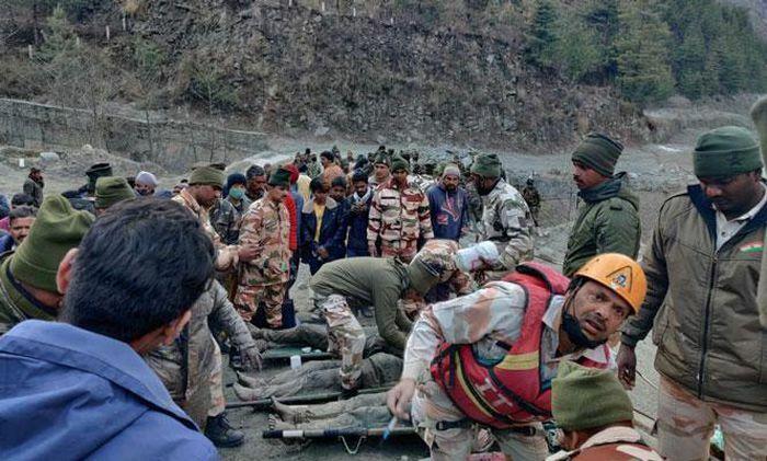 Vụ vỡ sông băng ở Ấn Độ: 18 người đã thiệt mạng, ít nhất 200 người mất tích