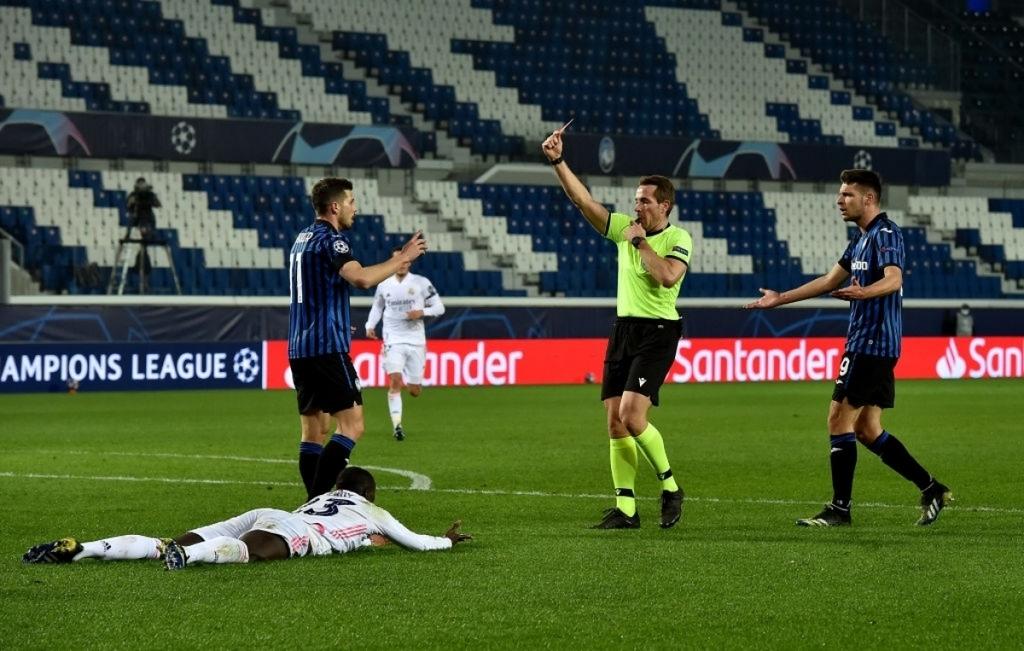 Kết quả bóng đá cúp c1 châu âu Atalanta 0-1 Real Madrid