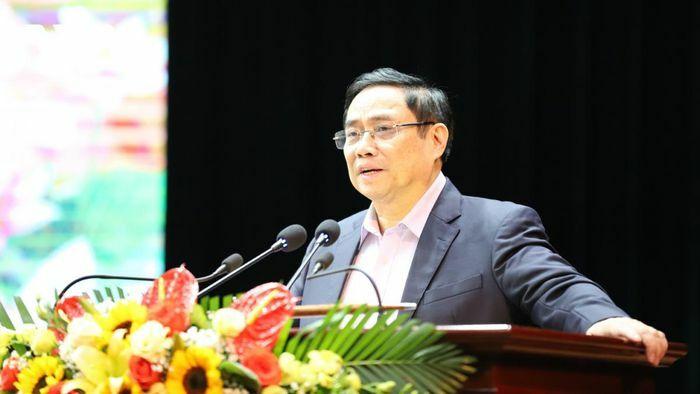 Trường Ban tổ chức Trung ương Phạm Minh Chính tặng quà công nhân, người lao động ở Sơn La - ảnh 1