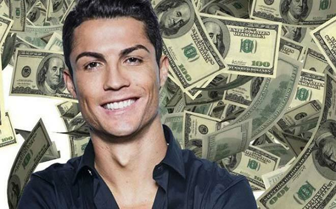 Ronaldo kiếm tiền quá khủng: Hé lộ nguồn thu cao gần gấp đôi lương đá bóng