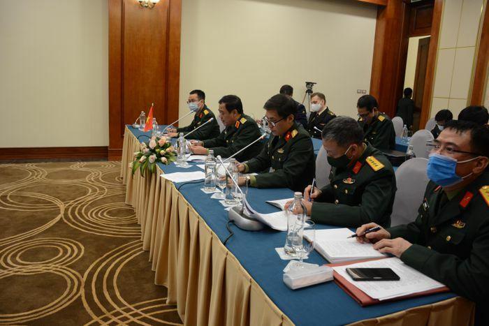 Trao đổi trực tuyến về các môn thi Việt Nam tổ chức trong khuôn khổ Army Games 2021