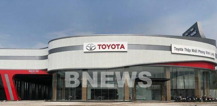 Ra mắt đại lý Toyota Thập Nhất Phong Vĩnh Long