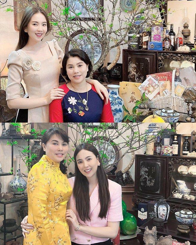 Tết của MC VTV: Mai Ngọc khoe mẹ quá trẻ; Con trai bụ bẫm của Trần Ngọc gây chú ý