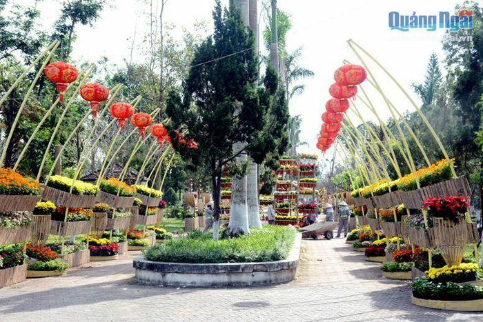 Thành phố Quảng Ngãi: Sắc xuân hội tụ
