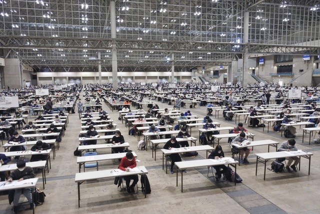Nhật Bản: Các trường học gấp rút ứng phó với dịch bệnh cho kỳ thi đầu vào