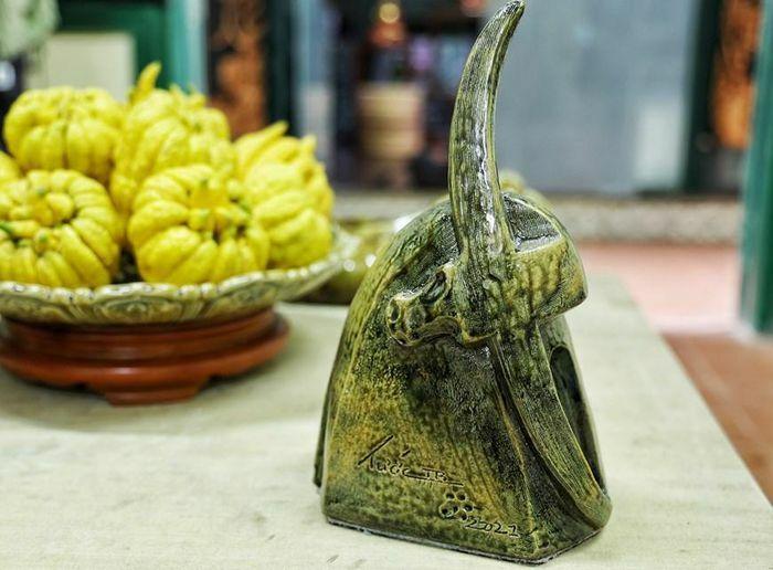 """""""Vườn gốm trâu"""" trong văn hóa truyền thống của nghệ nhân Trần Tước"""