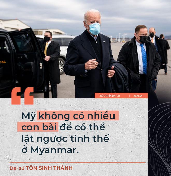 Cạnh tranh lợi thế hậu chính biến Myanmar: Mỹ tạm yếu thế, nhưng TQ cũng không có được lòng tin