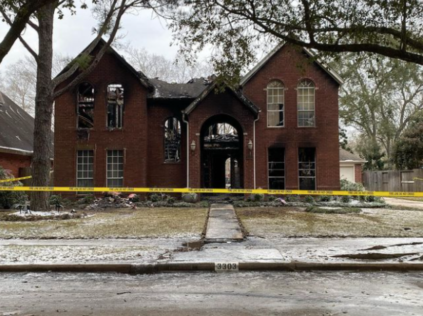 4 người trong gia đình gốc Việt ở Mỹ chết thảm do cháy nhà