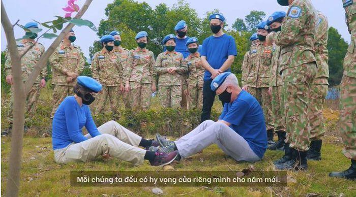 Đại sứ, đại biện 4 nước đón Tết cùng lực lượng gìn giữ hòa bình Việt Nam