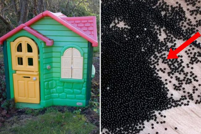 """Mẹ hoảng hốt phát hiện hàng nghìn hạt màu đen trong nhà đồ chơi của con, cầu cứu MXH thì nhận câu trả lời còn """"xoắn não"""" hơn"""