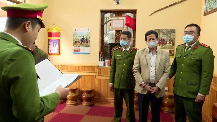 Bắt tạm giam nguyên Phó Giám đốc Sở Y tế tỉnh Sơn La