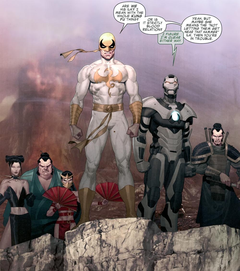 Vũ trụ Marvel truyện tranh: Quán Thế Âm Bồ Tát xuất hiện, tìm gặp Iron Fist