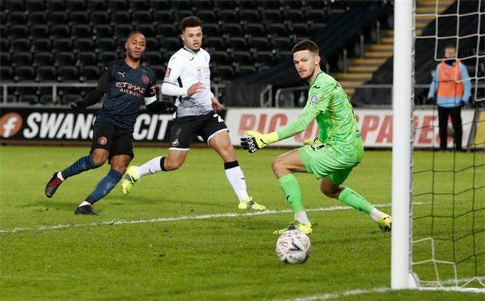 Kết quả Swansea 1-3 Man City: Man xanh lập kỷ lục chuỗi trận thắng dài nhất